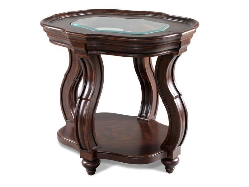 Other, Swank oval end table : Huffman Koos Furniture