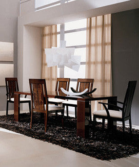 Venice Five Piece Dining Room Set - Huffman Koos Furniture