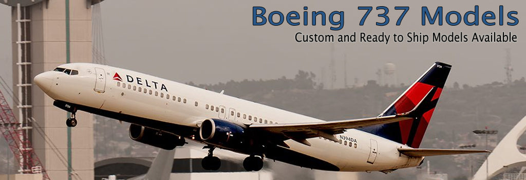 Boeing 737 Models by AimHigherJets.com