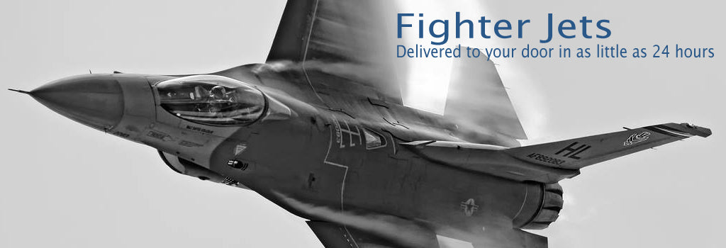 Fighter Jet Models - delivered to your door in as little as 24 hours
