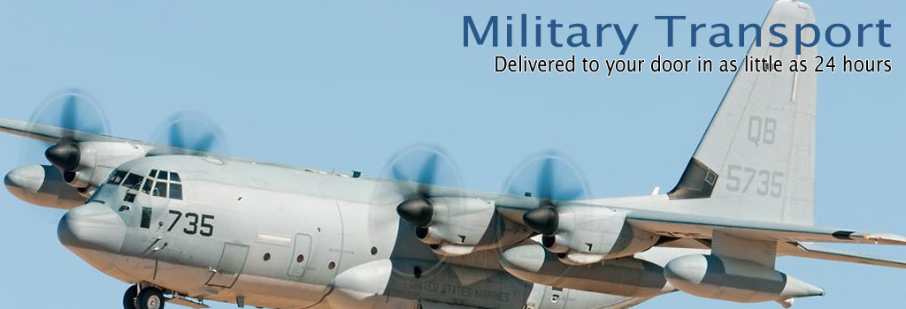 Military Transport Planes by AimHigherJets.com