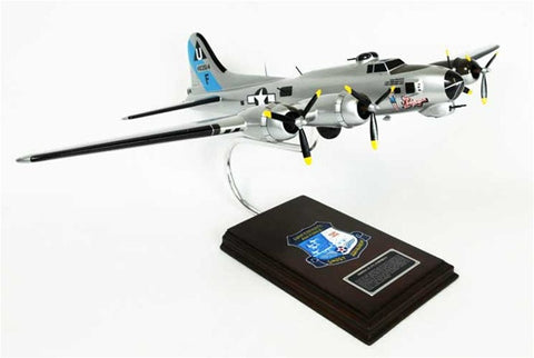 Boeing B-17G Flying Fortress 1/62 Scale Mahogany Model