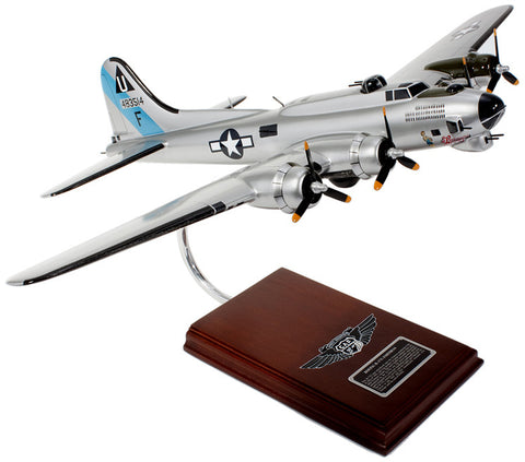 Boeing B-17G Flying Fortress Mahogany Model