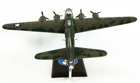 Boeing B-17F Memphis Belle 1/54 Scale Mahogany Model