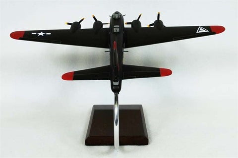 Boeing B-17G Flying Fortress (Olive) 1/72 Scale Mahogany Model