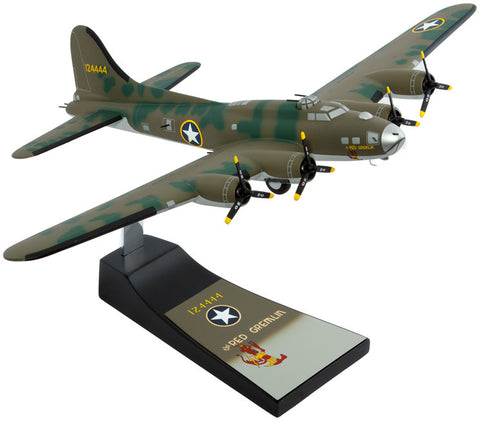 Boeing B-17F Red Gremlin Mahogany Model