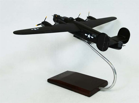 Consolidated Aircraft B-24J Liberator 1/72 Scale Mahogany Model