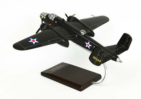 "B-25B ""Doolittle"" 1/48 Scale Mahogany Model"