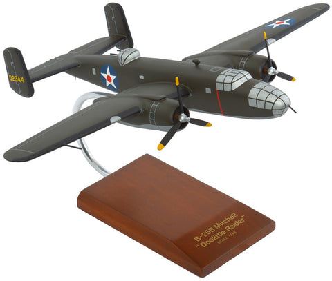 "B-25B ""Doolittle"" Mahogany Model"