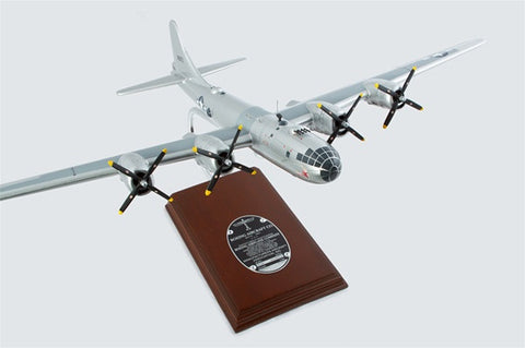 "Boeing B-29 Superfortress ""Doc"" 1/72 Scale Mahogany Model"