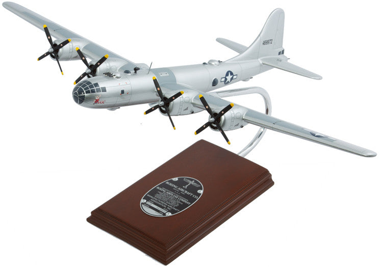 "Boeing B-29 Superfortress ""Doc"" Mahogany Model"