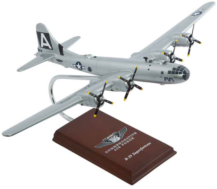 "Boeing B-29 Superfortress ""Fifi"" Mahogany Model"