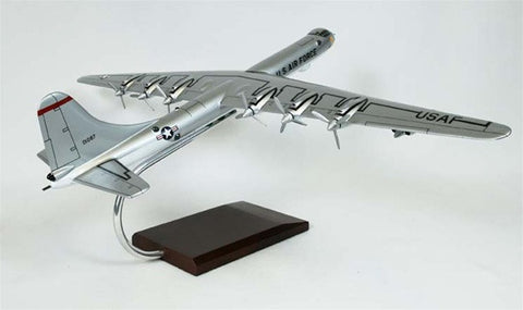 Convair B-36J Peacemaker 1/100 Scale Mahogany Model