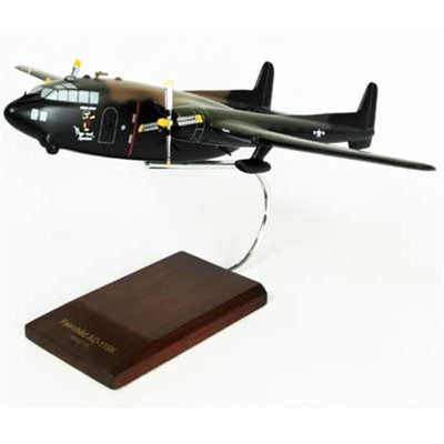 Fairchild AC-119K Stinger 1/72 Scale Mahogany Model