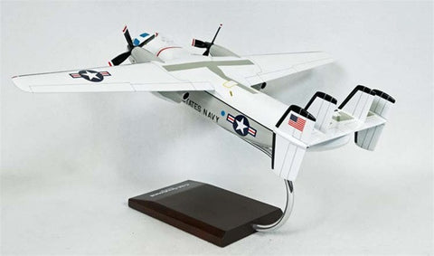 Grumman C-2A Greyhound 1/48 Scale Mahogany Model