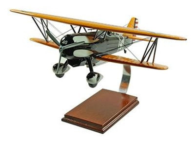 Curtiss P-6E 1/20 Scale Mahogany Model