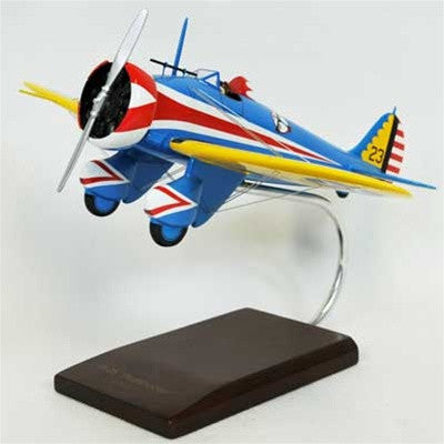 Boeing P-26 Peashooter 1/24 Scale Mahogany Model