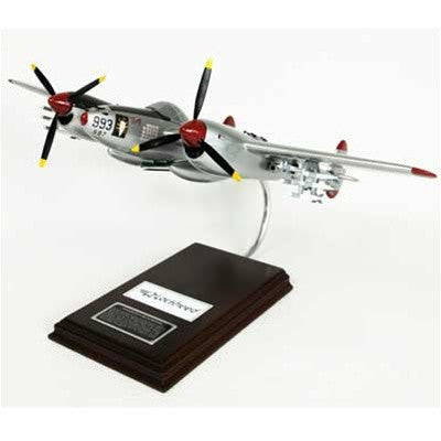 "Lockheed P-38J ""Lightning Marge"" 1/32 Scale Mahogany Model"
