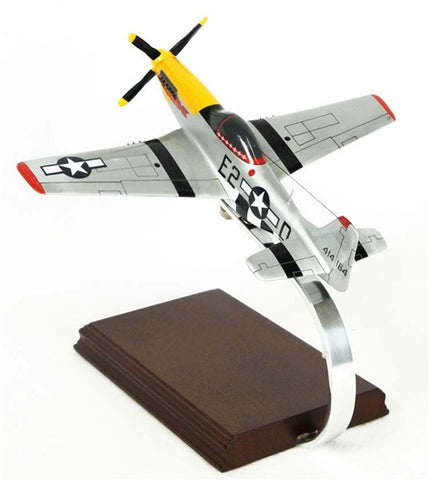 North American P-51D Mustang 1/48 Scale Mahogany Model