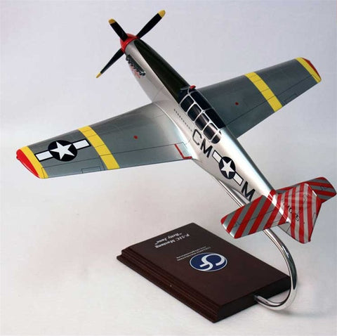 "North American P-51D ""Betty Jane"" 1/24 Scale Mahogany Model"