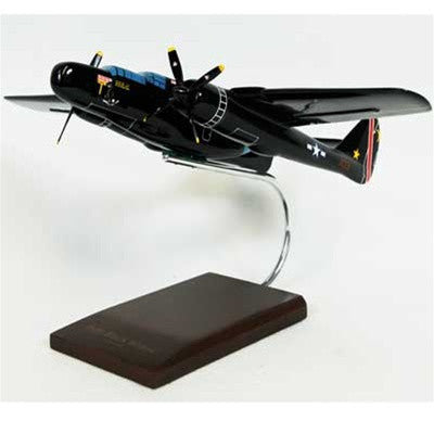 Northrop P-61 Black Widow 1/48 Scale Mahogany Model