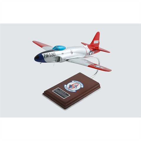 Lockheed Martin P-80A Shooting Star 1/32 Scale Mahogany Model