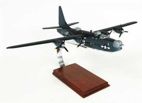 Consolidated PB4Y-2 Navy Privateer 1/66 Scale Mahogany Model