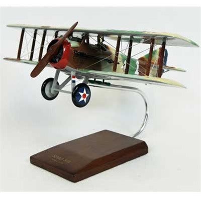 SPAD XIII 1/24 Scale Mahogany Model