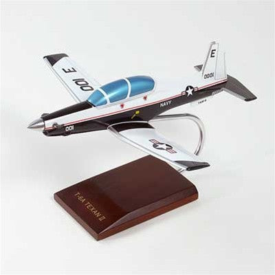 Beechcraft T-6A Texan II Navy Mahogany Model