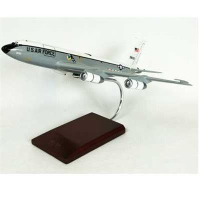 Boeing EC-135C Looking Glass 1/100 Scale Mahogany Model