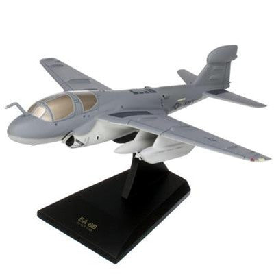 Desktop EA-6B Prowler 1/48 Scale Mahogany model