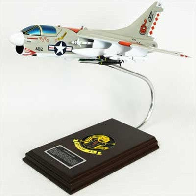 A-7B Corsair II USN Intruder Mahogany Model
