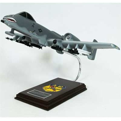 Fairchild-Republic A-10A Thunderbolt Warthog 1/40 Scale Mahogany Model