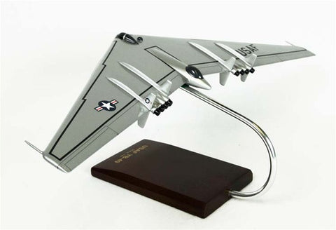 Northrop Grumman YB-49A Flying Wing 1/100 Scale Mahogany Model