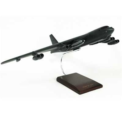"Boeing B-52H Stratofortress ""BUFF"" 1/100 Scale Mahogany model"