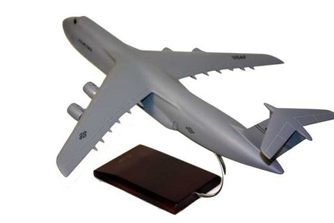 Lockheed C-5 Galaxy 1/150 Scale Mahogany Model