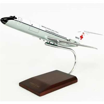 Desktop McDonnell Douglas C-9A Nightingale 1/100 Scale Mahogany Model