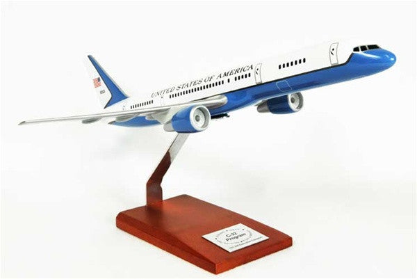 Desktop Boeing C-32A 1/100 Desktop  Model Tail No 90003