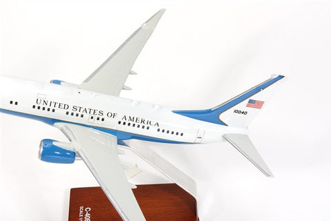 Boeing C-40 1/100 Desktop Model Tail NO 10040