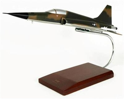 Desktop Northrop Grumman F-5E Tiger II 1/40 Scale Mahogany Model