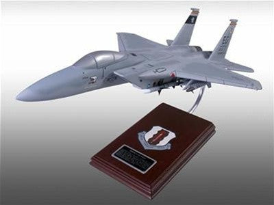 Boeing F-15C Eagle 1/42 Scale Mahogany Model