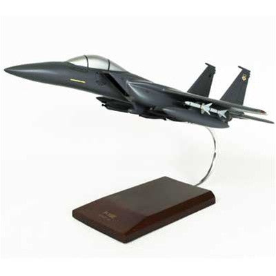 Boeing F-15E Strike Eagle 1/48 Scale Mahogany Model