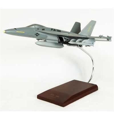 Boeing F/A-18E Super Hornet 1/48 Scale  Mahogany Model