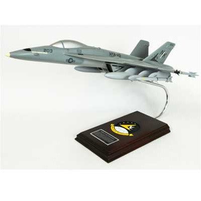 Boeing F/A-18E Super Hornet 1/38 Scale Mahogany Model