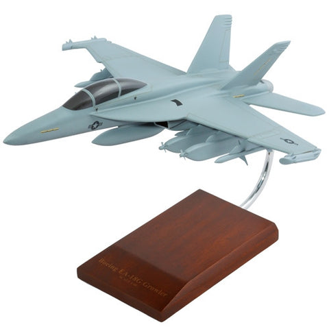 Boeing FA-18 Growler 1/48 Scale Mahogany Model