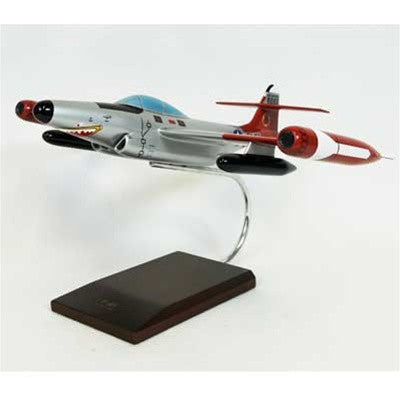 Northrop Grumman F-89D Scorpion 1/48 Scale Mahogany Model