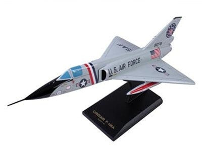 Desktop F-106A Delta Dart 1/48 Scale Mahogany Model