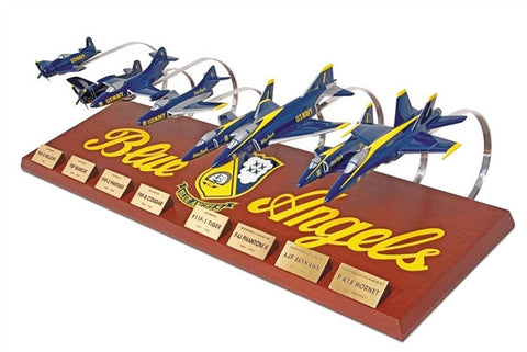 Blue Angels Collection Mahogany Models