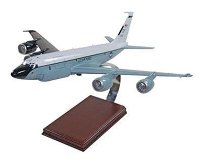 Boeing RC-135S Cobra Ball CFM 1/100 Scale Mahogany Model