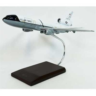 Boeing KC-10A Extender White/Gray 1/150 Scale Mahogany Model